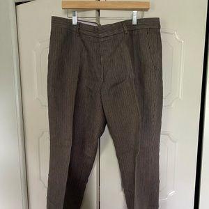 Banana Republic men's linen pants.